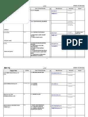 Avl Based On Manufacturersjune2000 Flow Measurement Valve