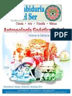 """La Sabiduria del Ser N°63 """"Antropología Gnostica Practica"""""""