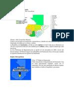 Las 8 Regiones de Guatemala y Aspectos Geograficos