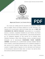 LA CADUCIDAD COMO INSTITUTO DE EMINENTE ORDEN PUBLICO - N° de Expediente 13-398 N° de Sentencia RC.000764