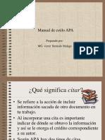 Manual de Estilo APA 1