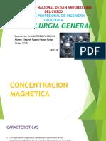METALURGIA GENERAL Concentracion Magnetica