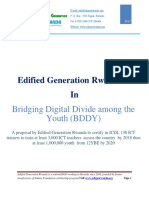 Edified Generation Rwanda - BDDY Final Proposal