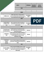 Cronograma Primer Semestre 2018