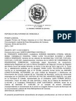 Tutela Judicial - Derecho a La Defensa - Debido Proceso - Condominio - Equidad - Tsj_regiones_decision_15