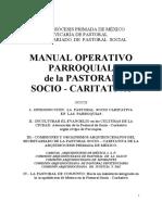 Manual Operativo Parroquial Pastoral Social
