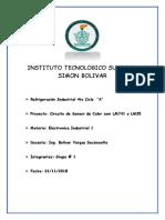 Instituto Tecnologico Superior Simon Bolivar Circuito de Luz y Temperatura
