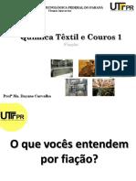Química Têxtil I (A3) - Fiação