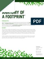 Footprint Anatomy