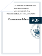 Características de La Arcilla