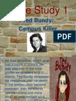 Ted Bundy Case Study