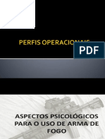 PERFIS OPERACIONAIS