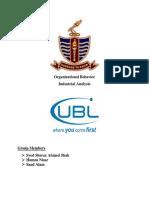 UBL Analysis Ob