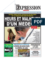 Journal l Expression Du 30.01.2018