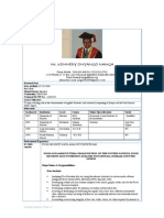 Cv_Kennedy Onyango Nanga, (Statistician)