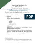 Contextualización de La Materia Prima Básica 2da Entrega