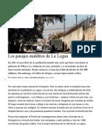 Pasajes Del Barrio La Legua