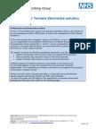 St Marks Formula Electrolyte Solution - EKPG Information - Jan 2015