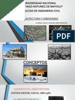 Conceptos de Arquitectura y Urbanismo