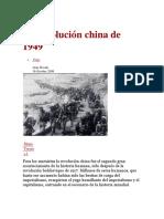 La Revolución China de 1949
