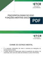 Funções Do Ego e Suas Patologias