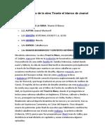 Análisis Literario de La Obra Tirante El Blanco de Joanot Martorell