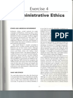Administrative Ethics