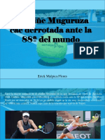 Erick Malpica Flores - Garbiñe Muguruza Cae Derrotada Ante La 88ª Del Mundo