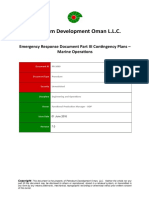PR-1069 - Emergency Response Document Part III Contingency Plans Volume VI Marine Operations