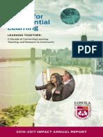 Loyola CEL Impact Report 2017 WEB