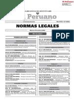 Normas Legales 17/01/2018 - El Peruano