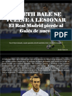 Jesús Sarcos - Gareth Bale Se Vuelve a Lesionar