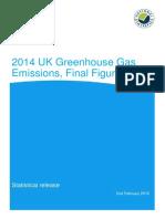 2014 Final Emissions Statistics Release