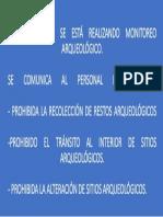 Cartel de Señalización 2