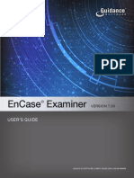 EnCase Examiner v7.03 User's Guide