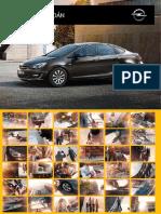 Catalogo Opel Astra Sedan