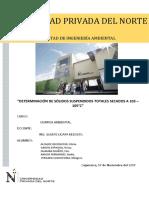 Septimo Informe de Quimica Ambiental