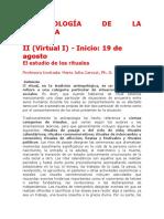 Antropología de La Creencia Virtual II SURAYADP