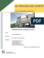 Octavo Informe de Quimica Ambiental