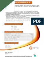 Ficha Tecnica Galp Formula g Dx2 5w30