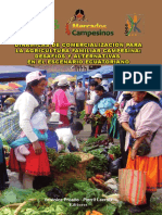 Dinámicas de Comercialización Para La Agricultura Familiar Campesina Desafíos y Alternativas en El Escenario Ecuatoriano
