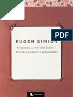 Simion_Eugen - Fictiunea Jurnalului Intim - I. Exista o Poetica a Jurnalului