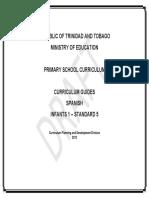 7 Curriculum Guides Spanish