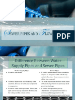 Sewer Pipes and Flows in Sewers