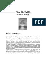 Caddy, Eileen - Dios Me Hablo