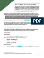 ESL Literacy Progress Report COMMENT BANK