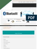 Comunicaciones Bluetooth  para Arduino