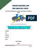 Informe de Torres de Alta Tension Pikillacta