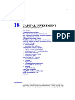 Capital Investment Decisions