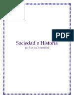 Muttahari. Sociedad e Historia
